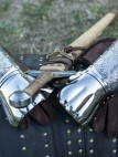 "Polearms Gauntlets ""Knight of Fortune"""