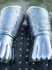 "SCA Demi Gauntlets ""Knight of Fortune"""