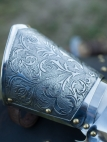 "Stainless Demi Gauntlets ""Knight of Fortune"""