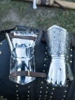 "Period Demi Gauntlets ""Knight of Fortune"""