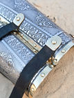 Eastern style functional medieval bazubands bracers
