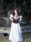 "Fantasy Bodice Vest ""Found Princess"""