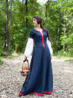 Medieval linen dress for SCA and Renaissance events and parties
