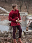 Exclusive Velvet Charles de Blois Pourpoint Gambeson