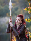 "Leather Women's Armor ""Shieldmaiden"""