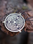 "Talisman Necklace ""Labyrinth"""