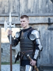 "Wearable Armour ""Knight of Fortune"" Kit Arms"
