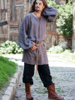 Medieval flax linen tunic