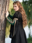 "Medieval Fantasy Dress And Overcoat Set ""Forest Princess"""