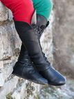 Medieval boots - leather fanatasy Forest boots