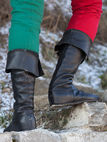 "Medieval Fantasy High Boots ""Forest"""
