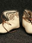 NATURAL CELTIC MEDIEVAL BOOTS/SHOES