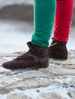 Suede Leather Medieval Shoes Boots