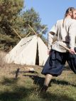 Medieval Viking Linen Pants