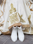 "White Wedding Medieval Dress ""The Accolade"""