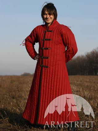 Asian Type Long Mongol Gambeson