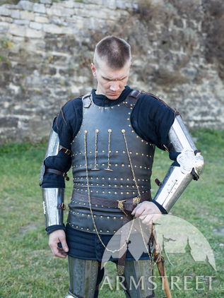 "Brigandine Body Armor ""Knight of Fortune"""