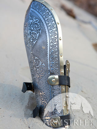 "Eastern Fighting Medieval Bazubands Bracers ""Prince of the East"""
