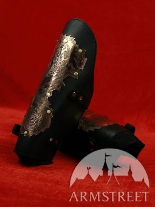 "Exclusive Handmade ""Dragons"" Arm Arms Armor Bracers"