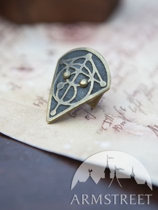 "Fantasy Thumb Ring ""The Alchemist's Daughter"""