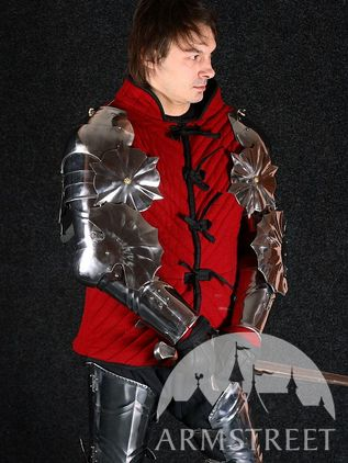 Italian Gothic Armor Arms and Pauldrons Set