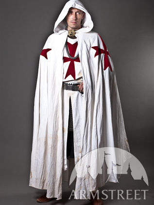 medieval knight crusader cloak for sale by medieval