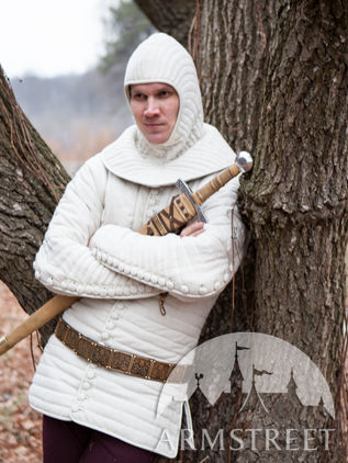 Knight's Woolen Gambeson Pourpoint