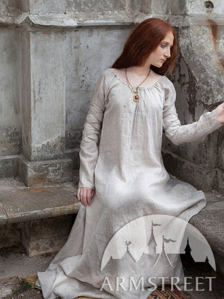 Medieval Exclusive XIV Century Style Chemise Underdress