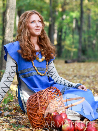 "Medieval Tunic and Surcoat Costume Set ""Sunshine Janet"""