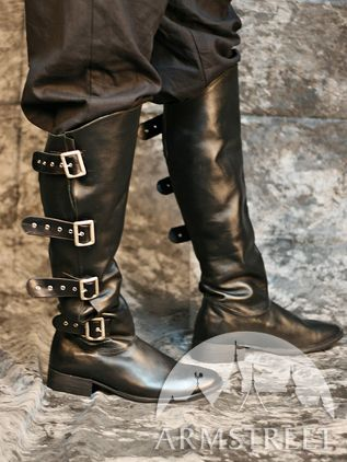 Medieval Rider Knee-high Boots