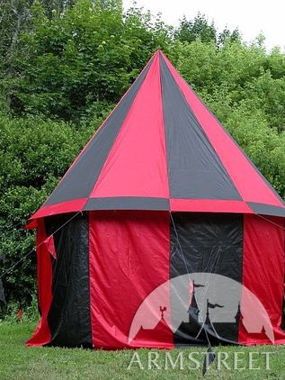 Medieval Tent Pavilion With Floor 12.8' Rnd 14''hgh