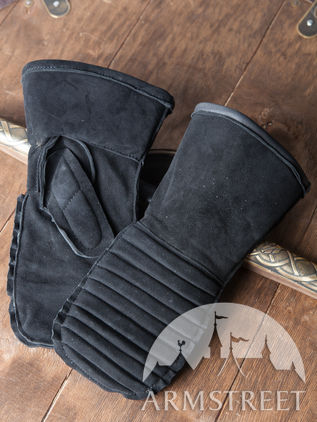 Padded Medieval Mittens Gloves
