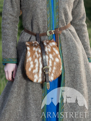 Traditional Viking Leather Bag