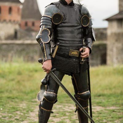 """Black Armor Kit """"The Wayward Knight"""" for sale  Available in"""