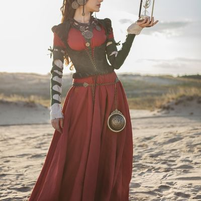 54281fc2 Medieval women's costumes for sale | Medieval period female costumes ...