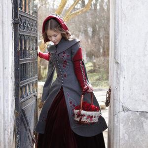 Exclusive Woolen Coat Quot Red Riding Hood Quot For Sale