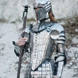 Fantasy Functional Armor Barbuta Helmet for sale  Available in