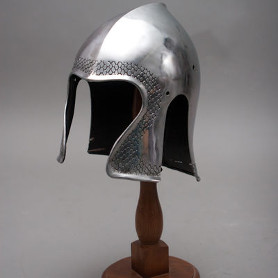 Fantasy Functional Armor Barbuta Helmet for sale  Available