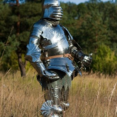 Medieval full SCA harness wearable functional knight armor for sale