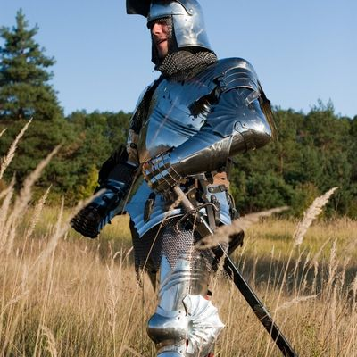 Medieval full SCA harness wearable functional knight armor ...