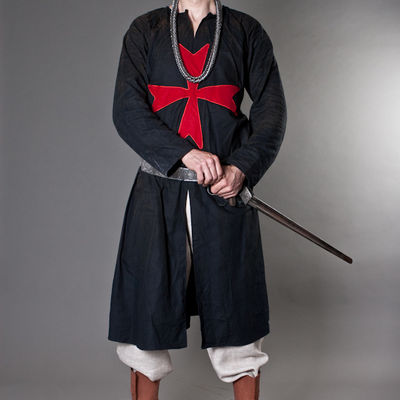 Store · Medieval Clothing; Knight Templar Tunic. Share & Knight Tunic with cross for sale. Available in: dark blue cotton ...