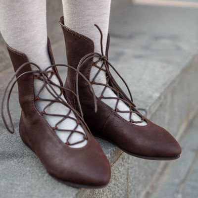 3d9f8f318b41d Medieval Women's Shoes for sale | Medieval period female shoes store ...