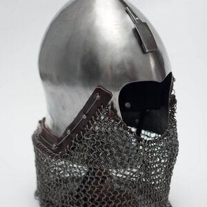 Medieval Italian Narrow Face Bascinet Helm Helmet Armor for