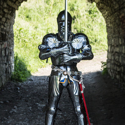 Medieval full suit of armor for sale