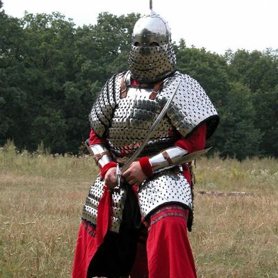 Medieval Mongolian Lamellar Armor Body Suit For Sale