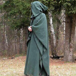 42fb54b377e Magic pure woolen medieval cloak robe with handmade stitching. 100 ...