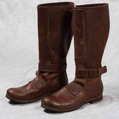 8eb009424b2 Renaissance High Leather Boots for sca and reenacment for sale ...