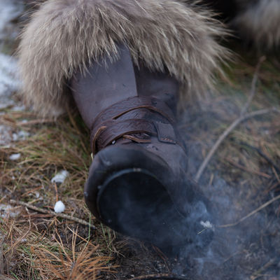 Viking Winter Boots Yule Edition Available In Brown