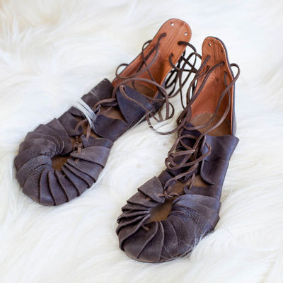 """c25ea08595c Viking s Leather Sandals """"Ingrid"""". Available in  brown leather ..."""