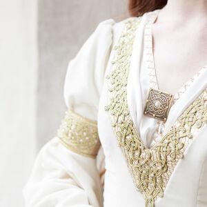 White Velvet Wedding Dress The Accolade Share